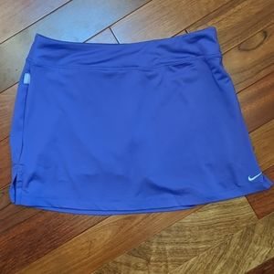 Nike Dri Fit Purple Skort